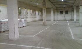 Производственное помещение 3300 м² и Открытая площадка 5000 м²