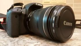 Canon650D, 18-135, штатив slik,сумка, защитгый фильтр, всё как новое