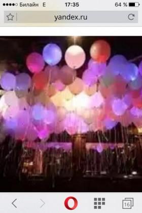 Гелевые светящиеся разноцветные шары !!!