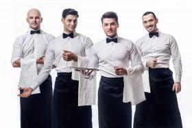 Ресторану требуются официанты с опытом работы