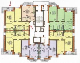 ЖК Колизей 2 ком.кв. (продажа от собственника)