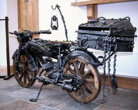 Мангал-мотоцикл