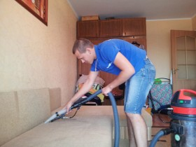 Уборка помещений, химчистка мягкой мебели, мойка окон
