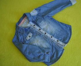 Продам рубашку джинсовую
