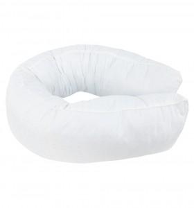 Подушка Валик-мах с лебяжим пухом