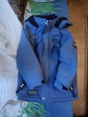 Курточка на мальчика 5-6 лет