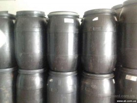 Бочка пластиковая б\у черная 260 литров