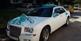 Прокат аренда свадебного автомобиля Крайслер 300 С