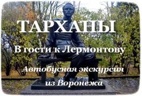 Лермонтовские Тарханы (экскурсия из Воронежа)
