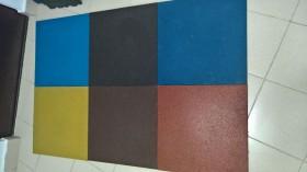 Резиновая плитка Ecostep 500х500