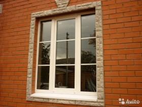 Пластиковые окна 1250х1100 глухие