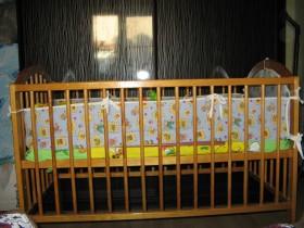 Кровать детская с аксессуарами