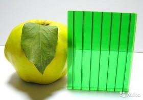 Поликарбонат ultramarin, 8 мм, Зеленый