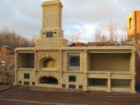 Строительство и ремонт мангалов из кирпича