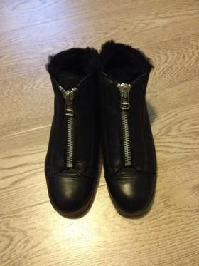 Ботинки зимние corso como