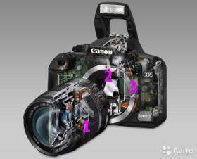 Ремонт фотоаппаратов, мониторов, аудио-видео