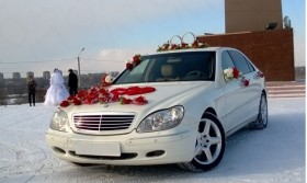 Mercedes S-600 Long для свадеб, авто на свадьбу