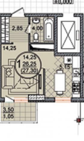 Продам Квартиру-Студию с ремонтом и мебелью!!!
