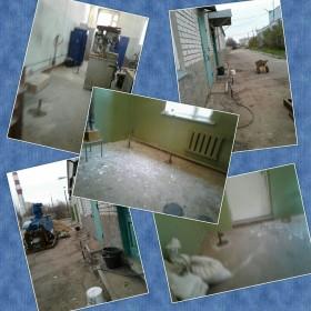 Усиление внутренних несущих стен перегородок