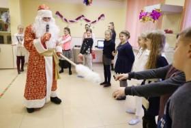 Дед Мороз и Снегурочка в Ростове