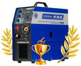Инверторный сварочный полуавтомат AuroraPRO OVERMAN 200 (MOSFET) Новый гарантия