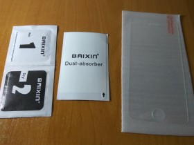 Защитное стекло 2.5D на iphone 5, 5s, SE!