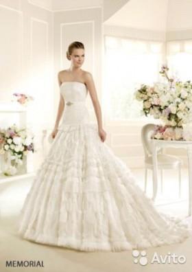 La Sposa (свадебное платье + фата)