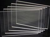 Sticlă organică transparentă în folii