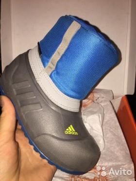 Ботинки детские Adidas с мембраной Primaloft