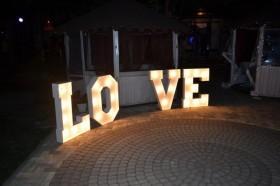 Светящиеся буквы LOVE на свадьбу или фотосессию