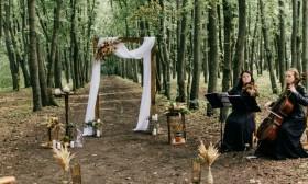 * Украшение зала, оформление свадьбы