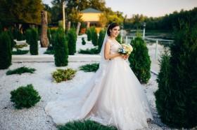 Свадебное платье из Италии Crystal Design