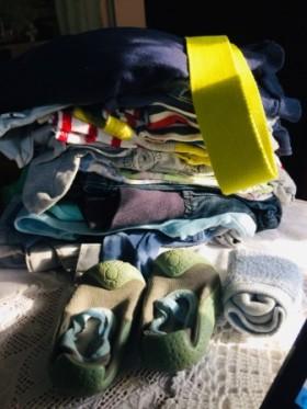 Комплект одежды из 30 предметов по 50р