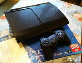 Super Slim Ps3 black 500gb