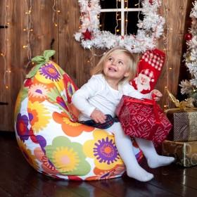 Модная бескаркасная мебель  для детей и их родителей