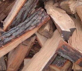 Дрова твердых пород (дуб, ясень)