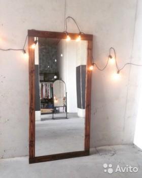 Зеркало в ретро стиле