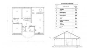 Проект одноквартирного жилого дома