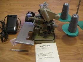 Машина швейная краеобметочная промышленная б/у серия GN1-113D, Одесса.