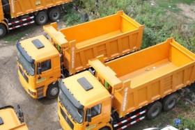 Shacman 30т. доставка песка дробл. бетон