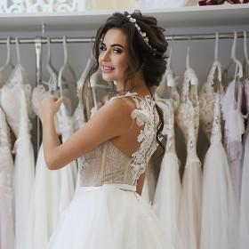 Свадебные платья шубки фаты