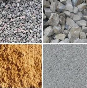Песок, щебень дорожный с доставкой