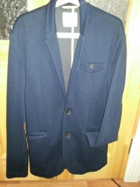 Новый мужской трикотажный пиджак