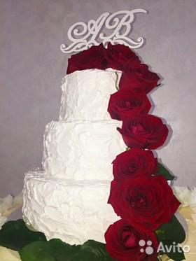 Топперы в торт и цветы