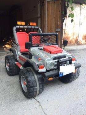 Детский электромобиль б.у. Peg Perego Gaucho Rock'in (Италия) - 350euro