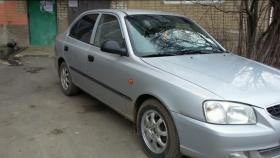 Hyundai Accent LC, седан 4 дв.