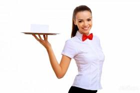 Официант в ресторан на банкетное обслуживание