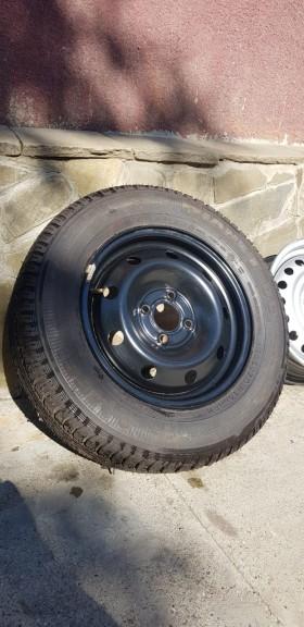 Запасное колесо и диски на Рено