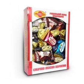 Конфеты - фрукты в бельгийском шоколаде