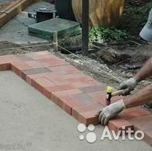 Услуги по укладке тротуарной плитки и брусчатки